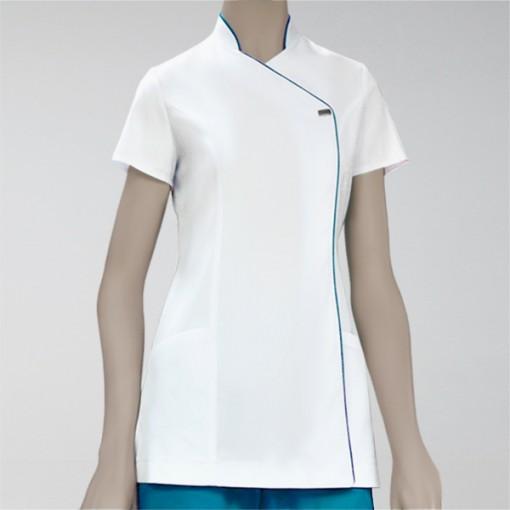 elegance blanca turquesa